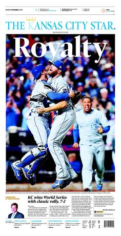 The Kansas City Royals win the World Series: American newspaper front pages – in pictures | Sport | The Guardian