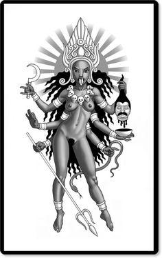 Kali - Goddess of Time and Change