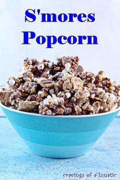 Popcorn Recipes, Snack Recipes, Dessert Recipes, Cooking Recipes, Flavored Popcorn, Crockpot Recipes, Yummy Snacks, Delicious Desserts, Yummy Food