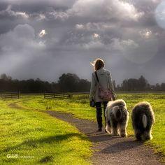 evening walk...ft Rhea & Lisa - #RheaenLisa