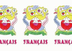francais_photos_logo 洋菓子の「フランセ」 北澤平祐 イラストデザインロゴパッケージ