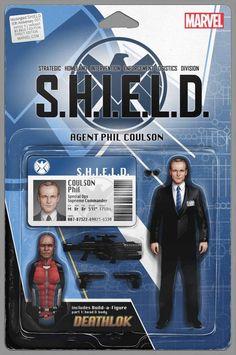Mockingbird: S.H.I.E.L.D. 50th Anniversary #1 Action Figure Variant Cover by John Tyler Christopher