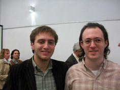 Nazareno (Der.) junto a Jacques Blit