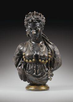 Charles-Henri-Joseph Cordier, 1827 - 1905 La Mauresque noire, vers 1873 | lot | Sotheby's