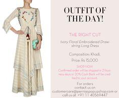 #outfitoftheday #therightcut #ootd #indiandesigners #indianfashion #shopnow #perniaspopupshop #happyshopping