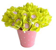 Bouquet de serviettes pour décoration de table de fête mariage pour buffet et tables la boite a rubans
