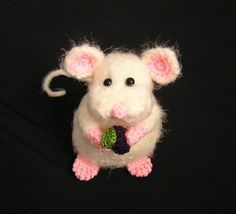 Pdf Crochet Pattern PUDGY LITTLE MOUSE by bvoe668 on Etsy, $5.00