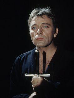 Richard Burton as Hamlet in 1964.