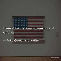 I care about national sovereignty of America. People Fly, Dumb People, Lie To Me, Give It To Me, America Quotes, Great Philosophers, Political System, Kindness Quotes