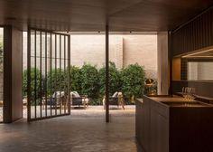 Ricard Camarena Restaurant in Valencia by Francesc Rifé Studio Cafe Restaurant, Restaurant Design, Cafe Bar, Modern Restaurant, Contemporary Architecture, Interior Architecture, Contemporary Art, Art Deco Buildings, Interior Design Studio