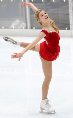 Gracie Gold of the USA Olympic Ice Skating Team