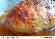 Sekaná bez vajec se smetanou a uzeným masem recept - TopRecepty.cz No Salt Recipes, Keto Recipes, Cooking Recipes, Czech Recipes, Ethnic Recipes, Meatloaf Recipes, Cauliflower Recipes, Food 52, Lasagna