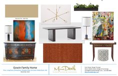 Gowin Urban Family Dining Room with Eclectic Inspiration from Minor DetailsDesign.com