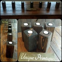 Unique Primtiques Dark Walnut Stained by UniquePrimtiques on Etsy