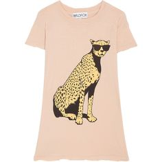 WILDFOX Jungle Cat Tee ($94) ❤ liked on Polyvore