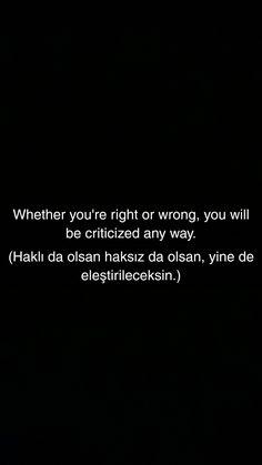 Good Sentences, English Sentences, English Words, English Quotes, Learn Turkish Language, Learn A New Language, Turkish Sayings, Motivational Words, Inspirational Quotes