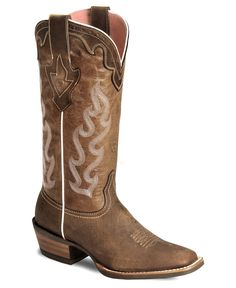 Ariat Crossfire Caliente Cowgirl Boots - Wide Square Toe available at Mode Country, Country Boots, Country Outfits, Country Life, Country Style, Western Wear, Western Boots, Cowgirl Boots Ariat, Square Toed Cowgirl Boots