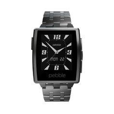 #Smartwatch Pebble Steel Metal.    http://www.opirata.com/es/smartwatch-pebble-steel-metal-p-36498.html