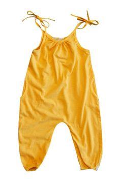 Tangerine Jumpsuit // at Darling Clementine