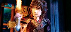 Yay! We finally got to see Hiccup make his fire sword!!! INFERNO!!!