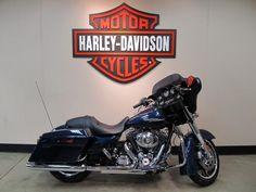 2012 FLHX Street Glide Big Blue Pearl Harley-Davidson
