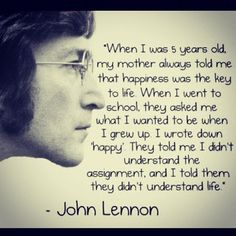 Enjoy the best John Lennon quotes about love and life. Famous quotes by John Lennon. Imagine all the people living life in peace. You may say I'm a dreamer, but I'm not the only one. I hope someday you'll join us.