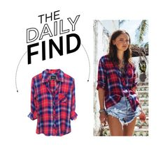 """""""Daily Find: Rails Hunter Plaid Shirt"""" by polyvore-editorial ❤ liked on Polyvore featuring DailyFind"""