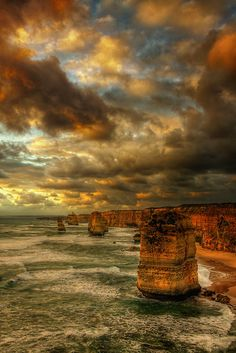 Tom ----   Twilight of the Gods by Felix Haryanto (The Twelve Apostles, Port Campbell National Park, Australia).