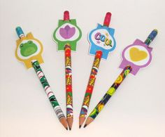 penciltoppersgroup Freebie Friday: Pencil Toppers