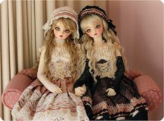 Lolitas: Reminds me of Chii and Freya