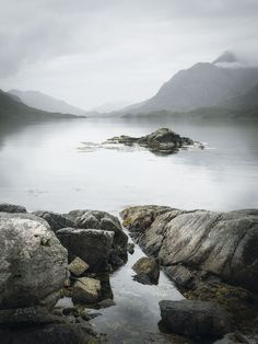 Photographer Pete Hyde captured this tranquil scene while visiting the fjords of Norway.