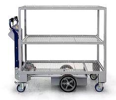 M23 Zallys, elektrický ručně vedený vychystávací vozík s policemi. Nosnost 500kg. Rychlá a snadná přeprava a vychystávání zboží ve velkých obchodech, ve skladech, ve výrobě. Kitchen Cart, Police, Home Decor, Decoration Home, Room Decor, Kitchen Carts, Law Enforcement, Interior Decorating