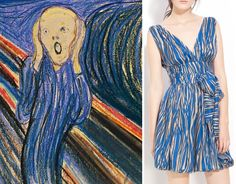 The painterly, abstract print on this Rachel Zoe bubble dress brings to mind the chalky pastel strokes of Munch's chef d'oeuvre. While a scream-worthy price tag may make bidding on this particular work of art unrealistic, at least wearing Zoe's showpiece of a dress would make us feel like a million (times 80) bucks.