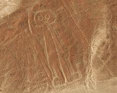 Las lineas de Nazca vistas desde el cielo, El astronauta