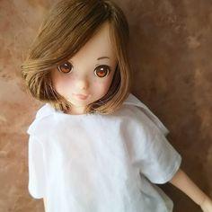 今日のるるお。茶髪植え終わってカットしますた。なにか女子っぽい。  #ruruko