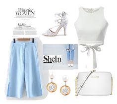 """""""shein style"""" by sheinside ❤ liked on Polyvore featuring WithChic and Michael Kors"""