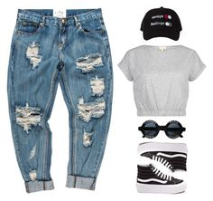 """""""Untitled #1769"""" by i-am-leia ❤ liked on Polyvore featuring Vans and Chanel"""