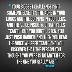 Your biggest challenge ° quote