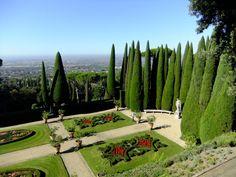 Gardens at Castel Gandolfo Victoria Boscariol