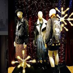 """BERSHKA, """"Ready to live the moment"""", mannequins by Atrezzo Mannequins, pinned by Ton van der Veer"""