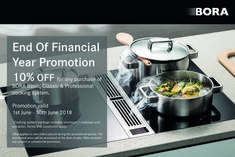 10 Special Offer For All Bora Cooking Systems Save On Any Of Our Three Cooktop Sets Basic Classic Professional This Commences