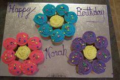 Cupcake Birthday Cake by mac_chris, via Flickr