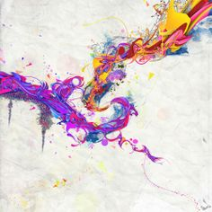 energetic and colorful