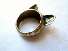 Cat Ring - thought about you @Courtney Baker!