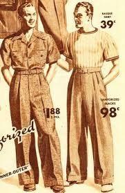 Bildergebnis für male fashion 1940
