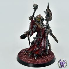 Adeptus Mechanicus: Tech-Priest Dominus #ChaoticColors #commissionpainting #paintingcommission #painting #miniatures #paintingminiatures #wargaming #Miniaturepainting #Tabletopgames #Wargaming #Scalemodel #Miniatures #art #creative #photooftheday #hobby #paintingwarhammer #Warhammerpainting #warhammer #wh #gamesworkshop #gw #Warhammer40k #Warhammer40000 #Wh40k #40K #Adeptusmechanicus #Mechanicus #Admech #Adeptusmechanicus #Mechanicum #TechPriestDominus Warhammer Figures, Warhammer Models, Warhammer 40000, Tabletop Games, Priest, Scale Models, Minis, Monsters, Artworks