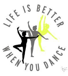 Always be dancing!