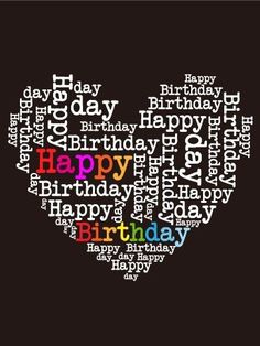 Send Free Happy Birthday Heart Card to Loved Ones on Birthday & Greeting Cards by Davia. It's free, and you also can use your own customized birthday calendar and birthday reminders. Birthday Wishes Best Friend, Funny Happy Birthday Wishes, Birthday Wishes Quotes, Happy Birthday Pictures, Happy Birthday Hearts, Birthday Love, Humor Birthday, Happy Birthday My Friend, Colorful Birthday