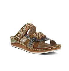 """L'Artiste by Spring Step® Women's """"Caiman"""" Slide Sandals"""