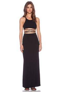 Toby Heart Ginger Newport Maxi Dress in Black | REVOLVE